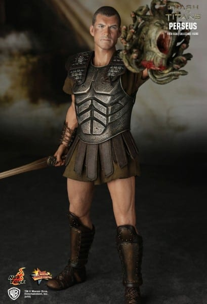 Hot Toys 1 6 Clash Of The Titans Mms122 Perseus Masterpiece Action