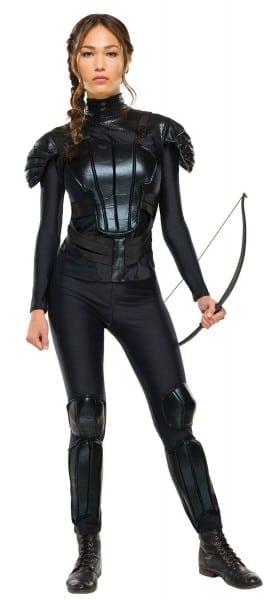 Katniss Everdeen Costume Hunger Games Rebel Ladies Fancy Dress