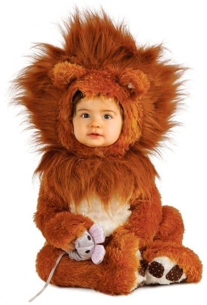 Baby And Toddler Lion Cub Costume