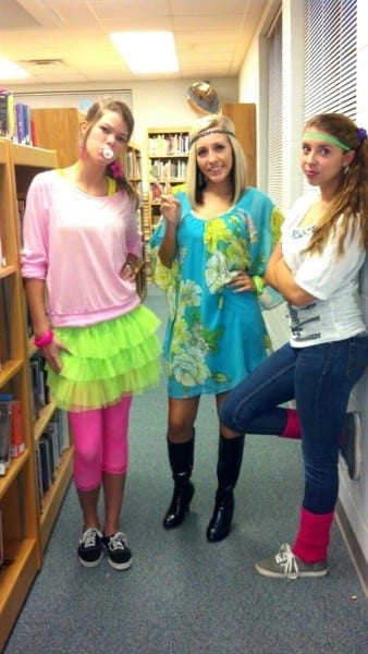 Our Decade Day Costumes For Homecoming Week!