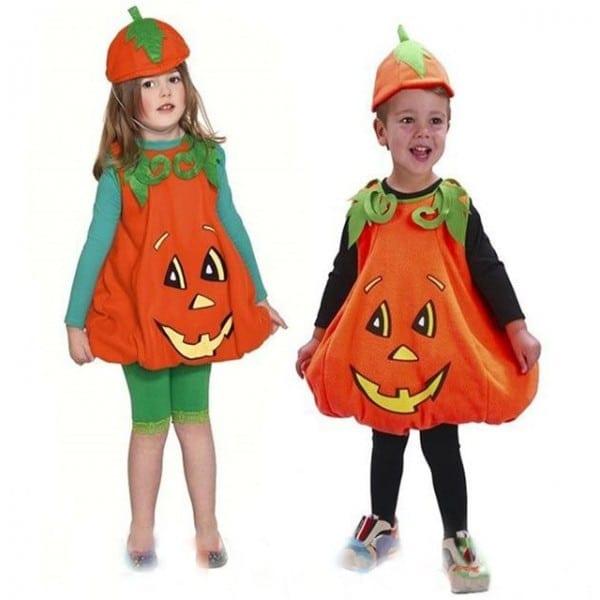 2017 New Style Toddler Boys Girls Pumpkin Costume Halloween Girl