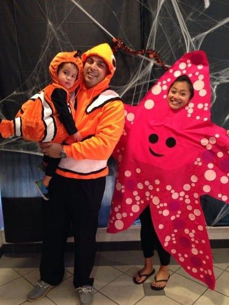 Finding Nemo Halloween Costumes!  Findingnemo  Nemo  Marlin  Peach