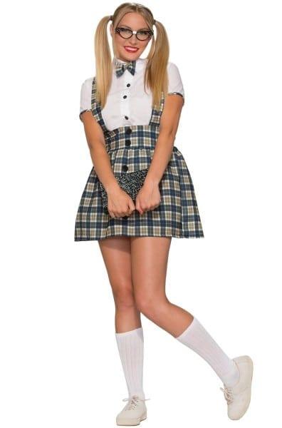 50's Nerd Girl Adult Costume (m L)