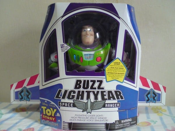 Toy Story Collection Buzz Lightyear Replica