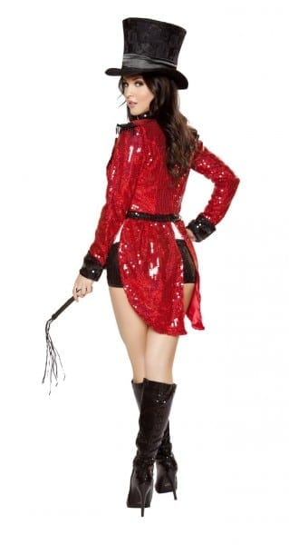 Radiant Ringmaster, Circus Women Halloween Costumes, Roma