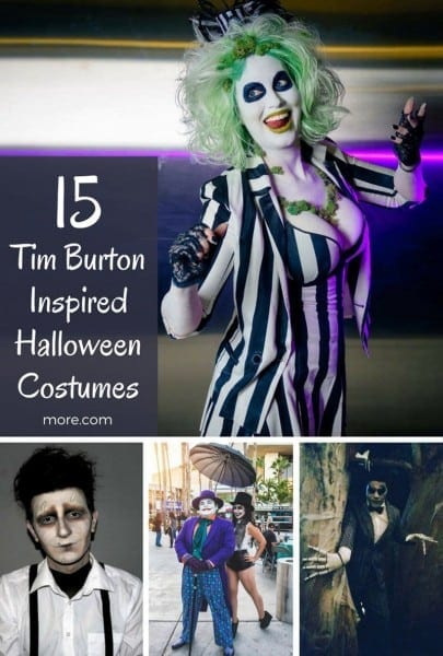 15 Of The Best Halloween Costumes Inspired By Tim Burton
