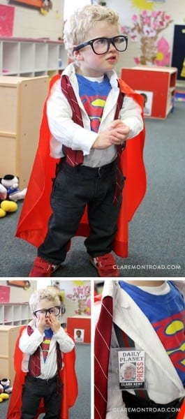 Clark Kent Superman Toddler Costume