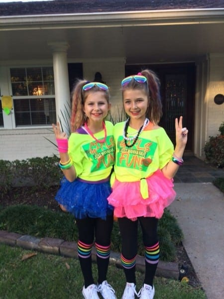 Fun Girls 80s Costume! …