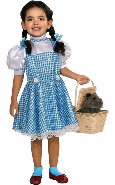 Amazon Com  Wizard Of Oz Dorothy Sequin Costume, Toddler 1