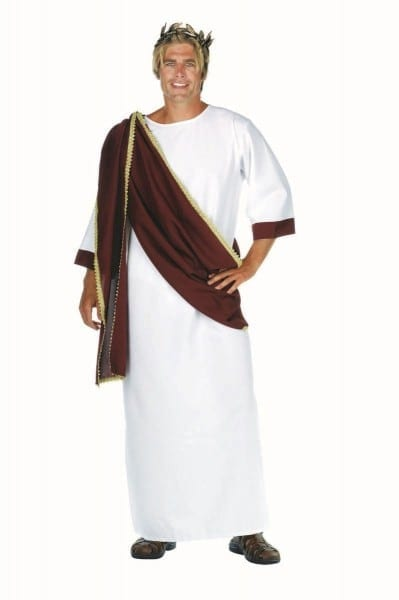 Ceasar Greek And Roman Toga Costume