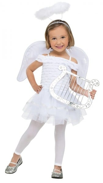Little Angel Toddler Cute Boys Girls Fancy Dress Up Costume