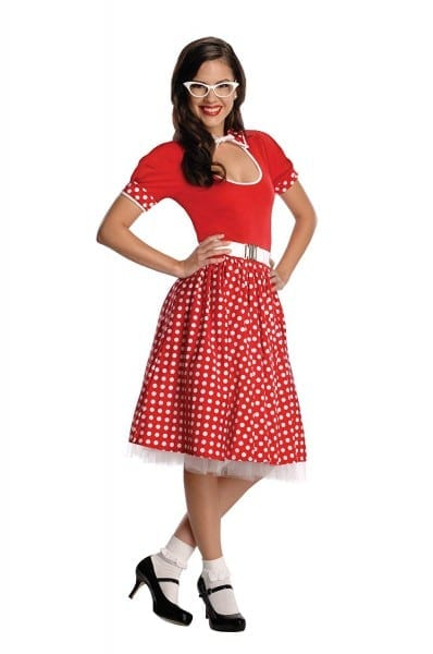 Amazon Com  Secret Wishes Rubies 50s Nerd Girl Costume  Clothing
