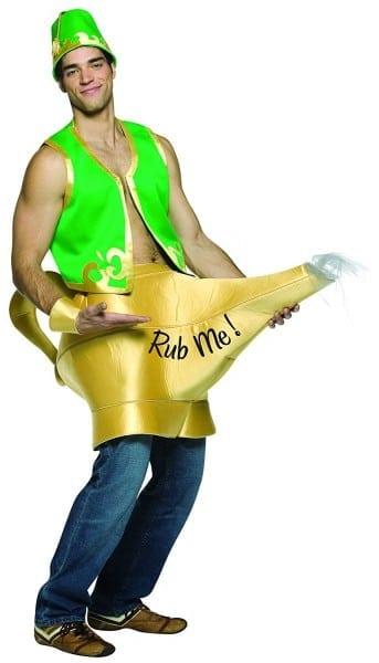 Amazon Com  Rasta Imposta Genie In The Lamp, Green, One Size  Clothing