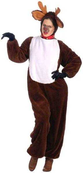 Amazon Com  Forum Novelties Plush Reindeer Costume, Brown