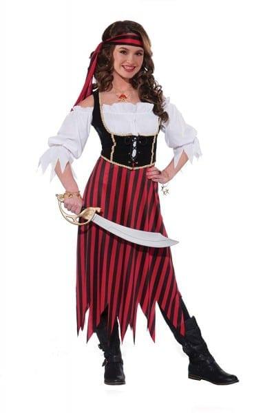 Amazon Com  Forum Novelties Women's Teenz Pirate Maiden Costume