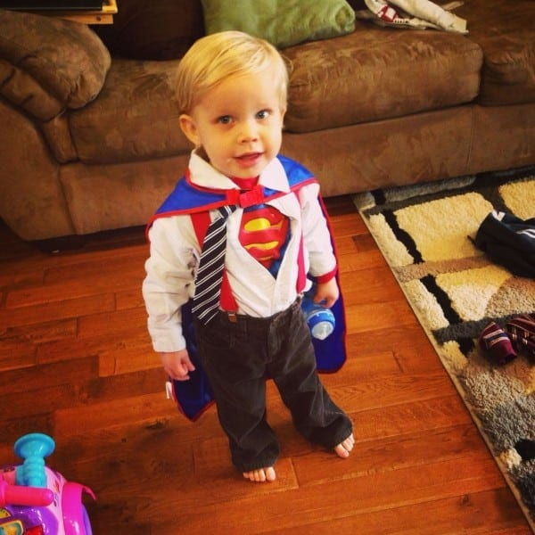 Toddler Halloween Costume! Clark Kent By Daysuperman By Night