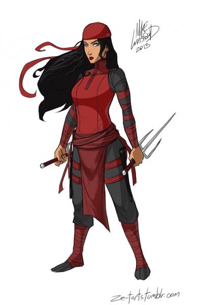 Fully Dressed Elektra