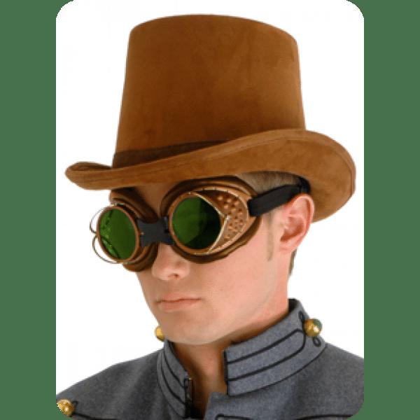 Coachman Brown Suede Top Hat