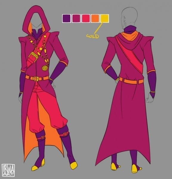 Commission     Male Fantasy Mage By Irinafestner94 On Deviantart