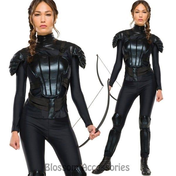 The Hunger Games Mockingjay Part 1 Deluxe Womens Katniss Costume
