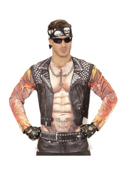 Bad Biker Costume For Men  The Coolest
