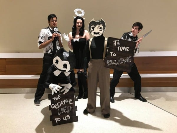 Bendy And The Ink Machine  The Gangs All Here! By Gailfreebird On