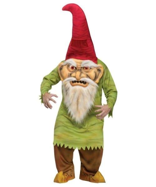 Adult Big Head Evil Gnome Halloween Costume