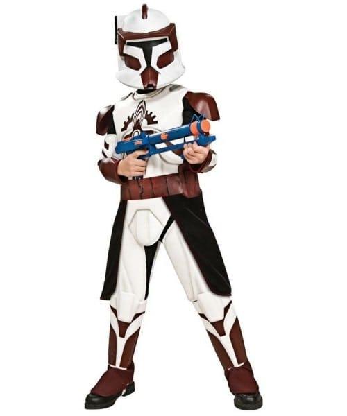 Star Wars Clone Wars Commander Fox Kids Movie Costume