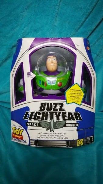 Buzz Lightyear Replica Certificado Disney Pixar Toy Story Nv