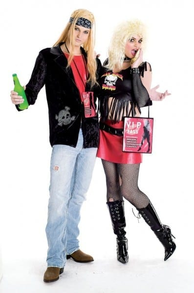 90's Rock Couples Costumes