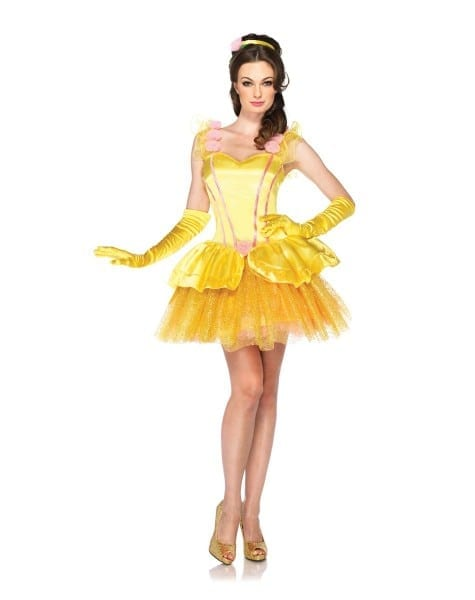 Disney Beauty And The Best Princess Belle Adult Women's Costume