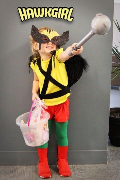 Hawkgirl Halloween Costume