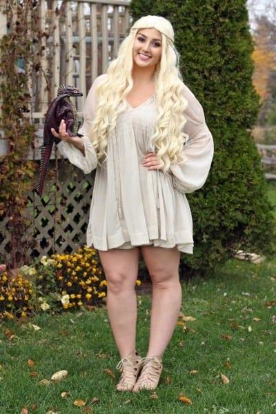 Daenerys Targaryen Halloween '16