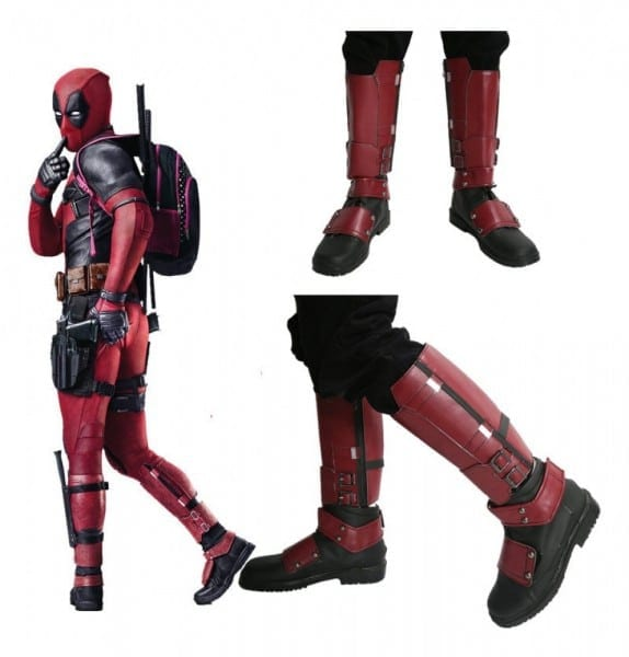 Buy Deadpool Cosplay Costumes, Deadpool Cosplay Boots, Deadpool