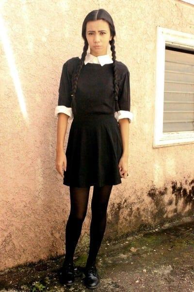 Diy  Wednesday Addams Halloween Costume – Lyndsay Picardal
