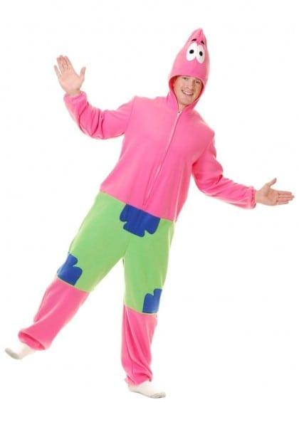Extraordinary Patrick Starlloween Costume Adult Starfish Costumes