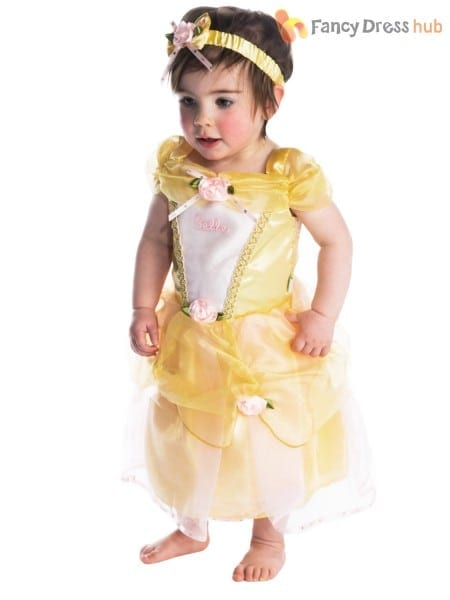 Baby Toddler Deluxe Disney Princess Costume Girl Fairytale Fancy