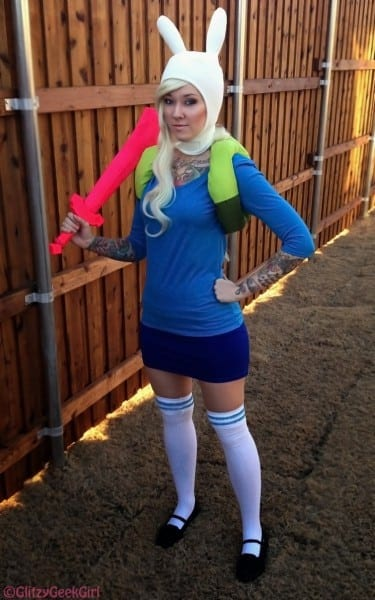Omglitzy  Tutorial  Adventure Time Fionna Cosplay
