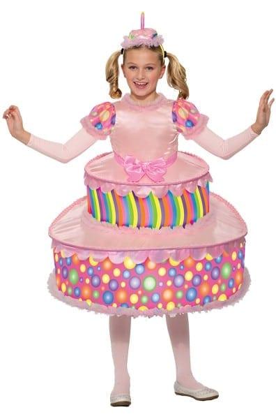 Birthday Cake Child Costume (large)