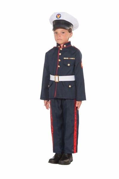 Kids Formal Marine Boys Halloween Costume