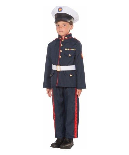 Kid's Formal Marine Halloween Costume