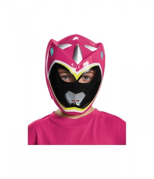 Pink Power Ranger Dino Charge Girls Vacuform Mask