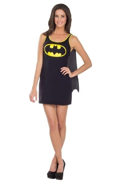 Rubies Womens Official Batgirl Fancy Dress And Cape Costume