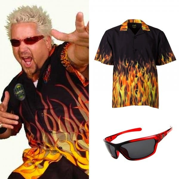 Guy Fieri Halloween Costume