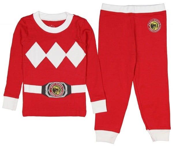 Intimo Toddler Mighty Morphin Power Rangers Pajama Set Boys Girls