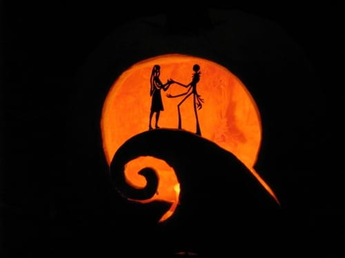 29 Images Of Jack Skellington And Sally Pumpkin Template