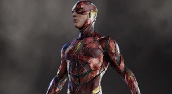 New Look At The Flash Costume In 'justice League'