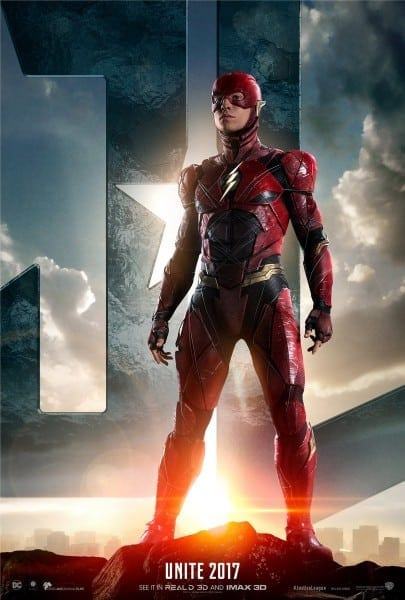 Justice League  The Flash Costume Images, Details