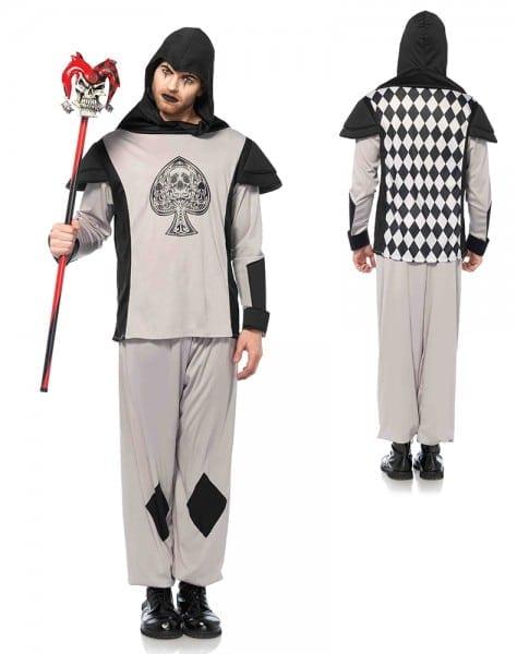 Mens Black Card Guard Alice In Wonderland Costume