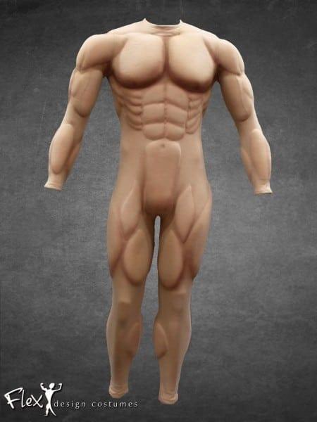 Lean Flex Design Muscle Suit